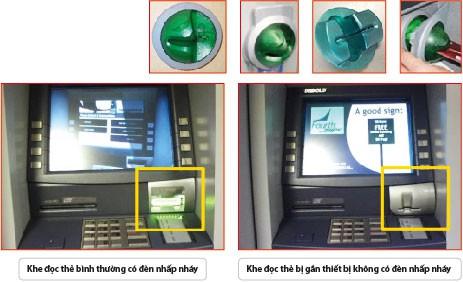 Các ngân hàng cảnh báo nạn lừa đảo khi rút tiền, thanh toán trên mạng - Ảnh 3.