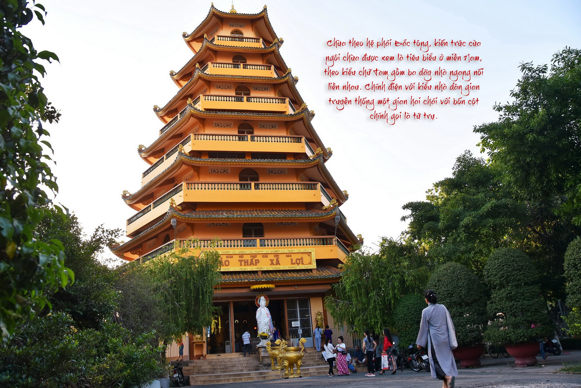 [eMagazine] - Ngày Xuân viếng các ngôi chùa cổ ở TP.HCM - Ảnh 8.