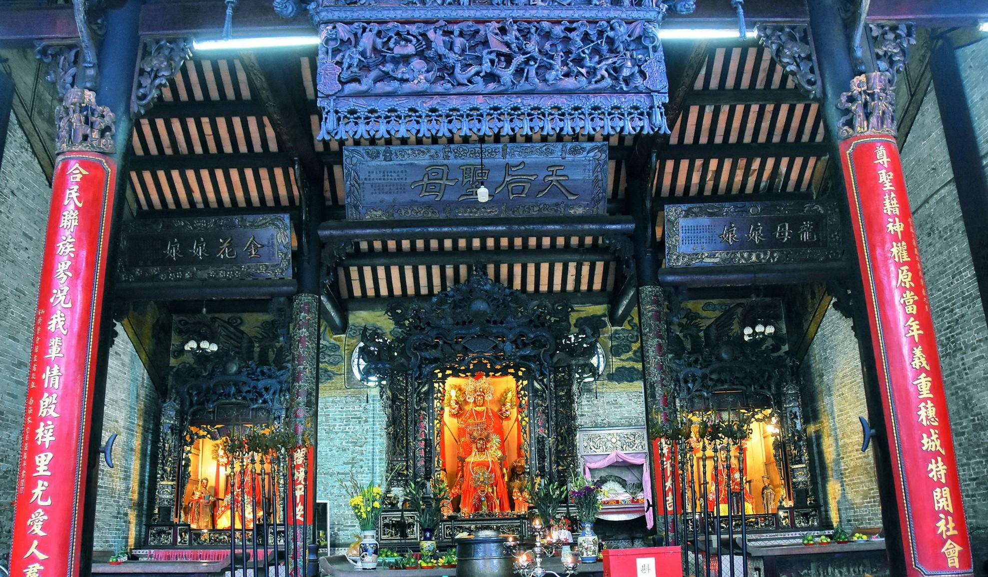 [eMagazine] - Ngày Xuân viếng các ngôi chùa cổ ở TP.HCM - Ảnh 17.