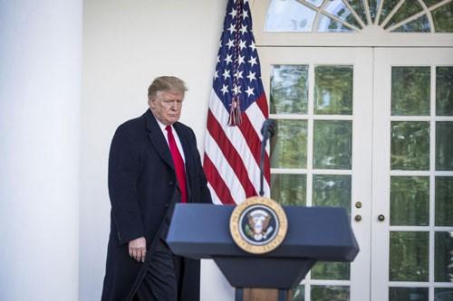 Tổng thống Donald Trump bị chỉ trích - Ảnh 1.