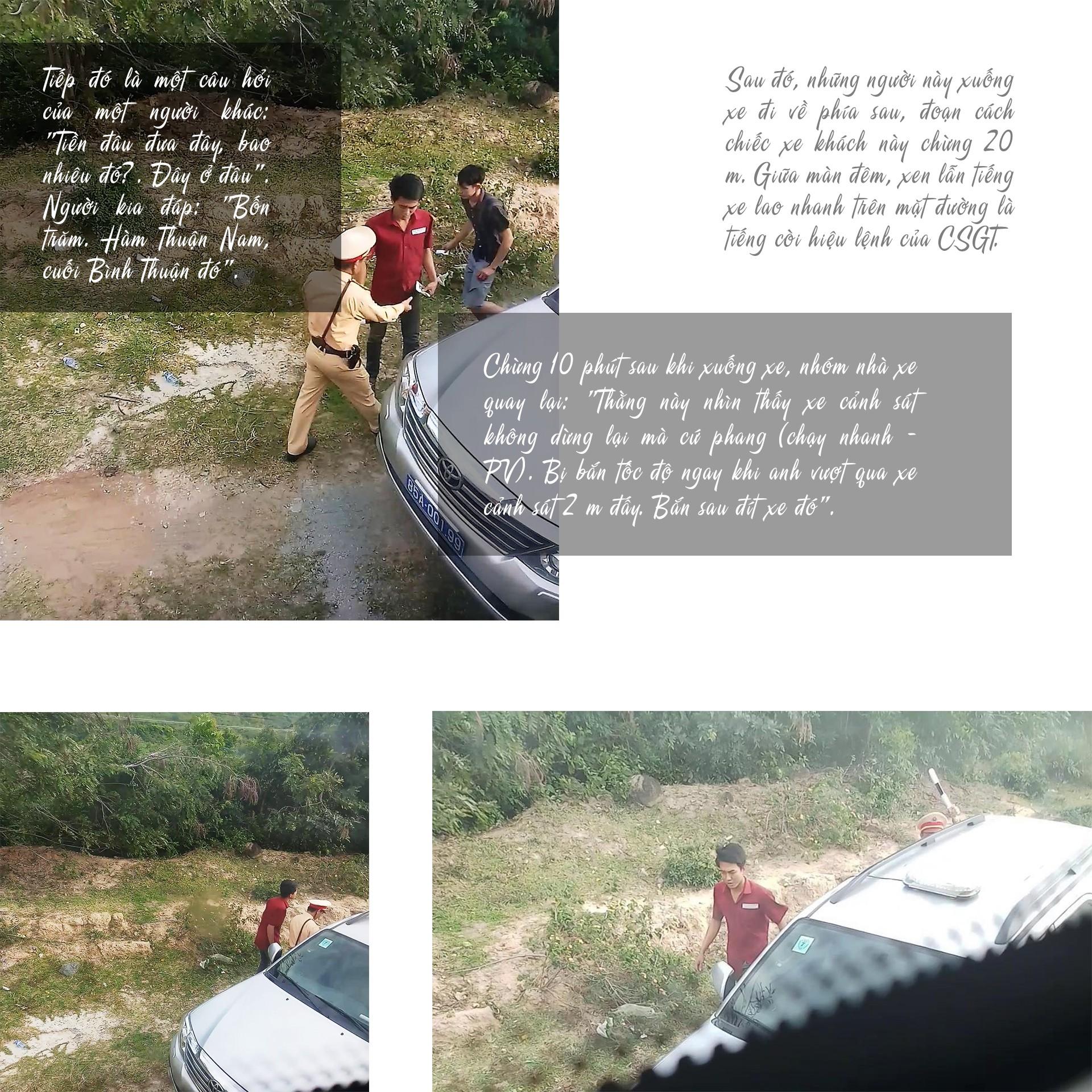 [eMagazine] - Những phút đối đầu giữa tài xế xe khách chạy Tết với CSGT - Ảnh 3.
