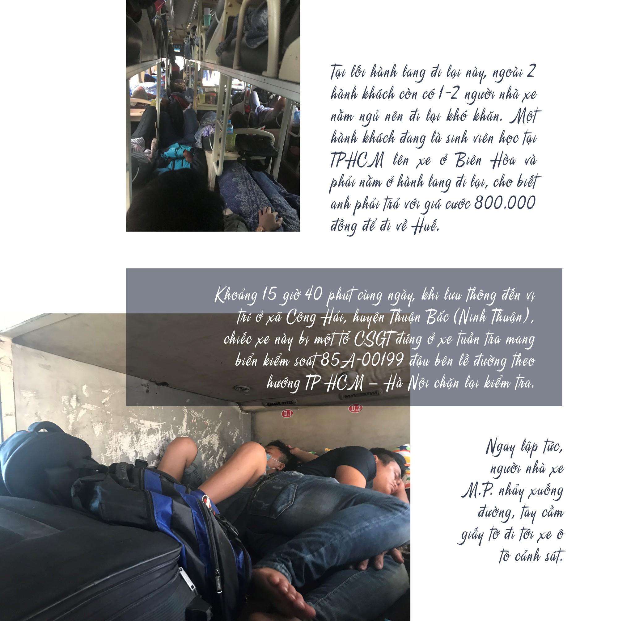 [eMagazine] - Những phút đối đầu giữa tài xế xe khách chạy Tết với CSGT - Ảnh 6.
