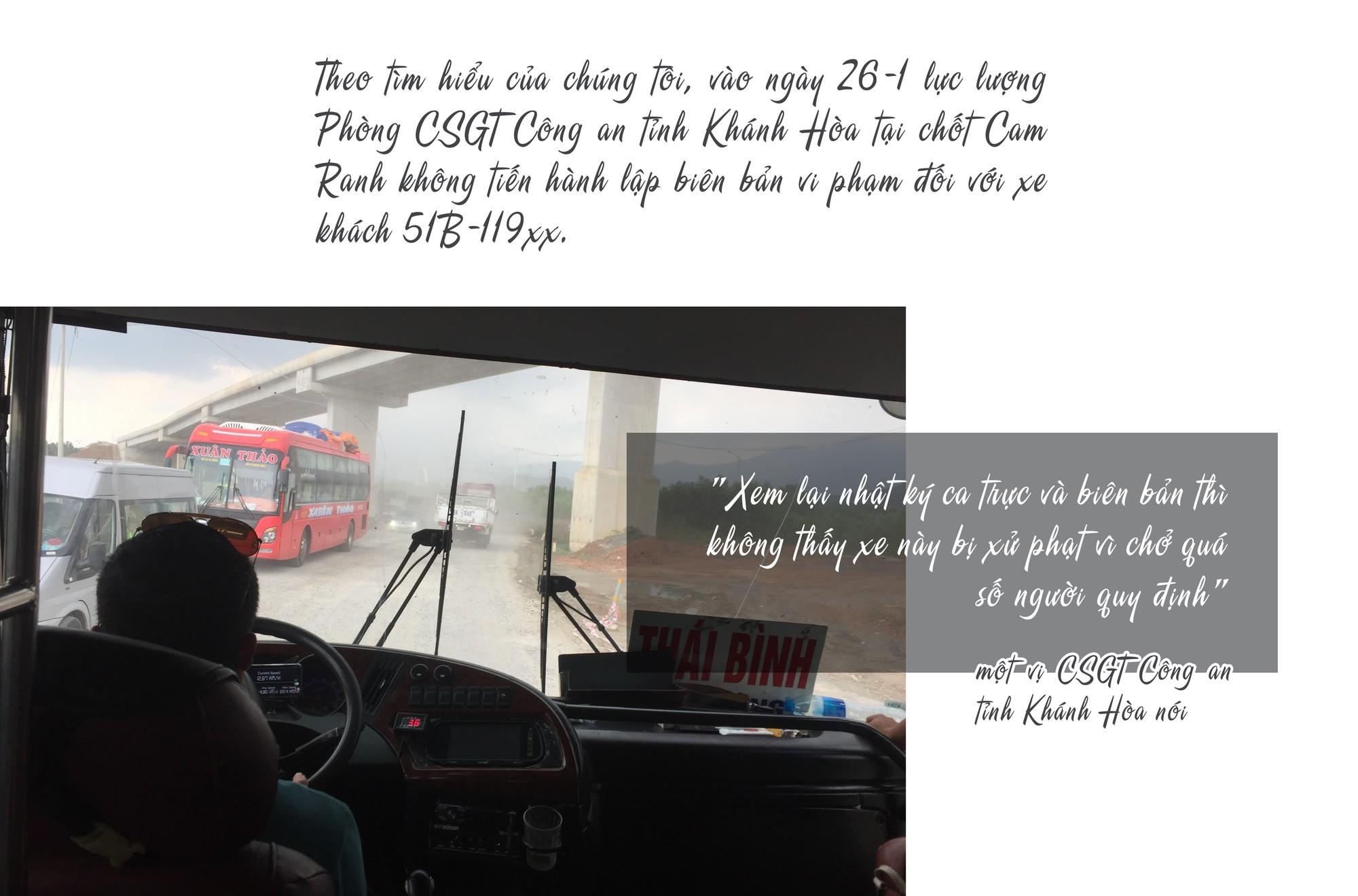 [eMagazine] - Những phút đối đầu giữa tài xế xe khách chạy Tết với CSGT - Ảnh 7.