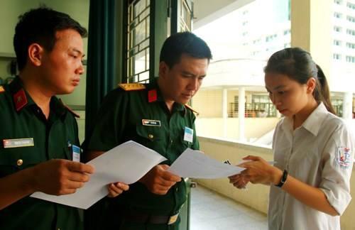 Thông tin quan trọng dành cho thí sinh dự thi trường quân đội năm 2019 - Ảnh 1.