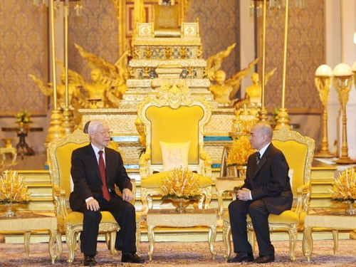 Quan hệ Việt Nam - Campuchia vào giai đoạn phát triển mới - Ảnh 1.