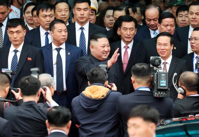 Toàn cảnh đón Chủ tịch Triều Tiên Kim Jong-un tại Việt Nam - Ảnh 11.