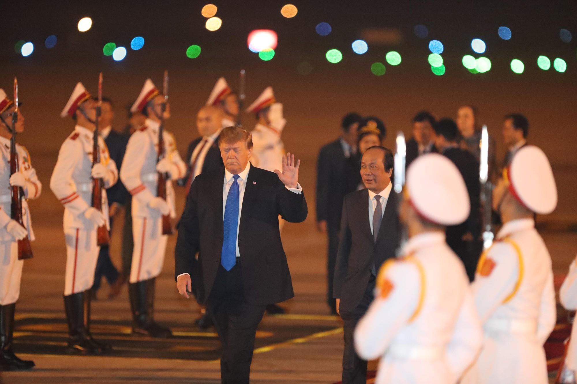Toàn cảnh Hà Nội chào đón Tổng thống Mỹ Donald Trump - Ảnh 8.