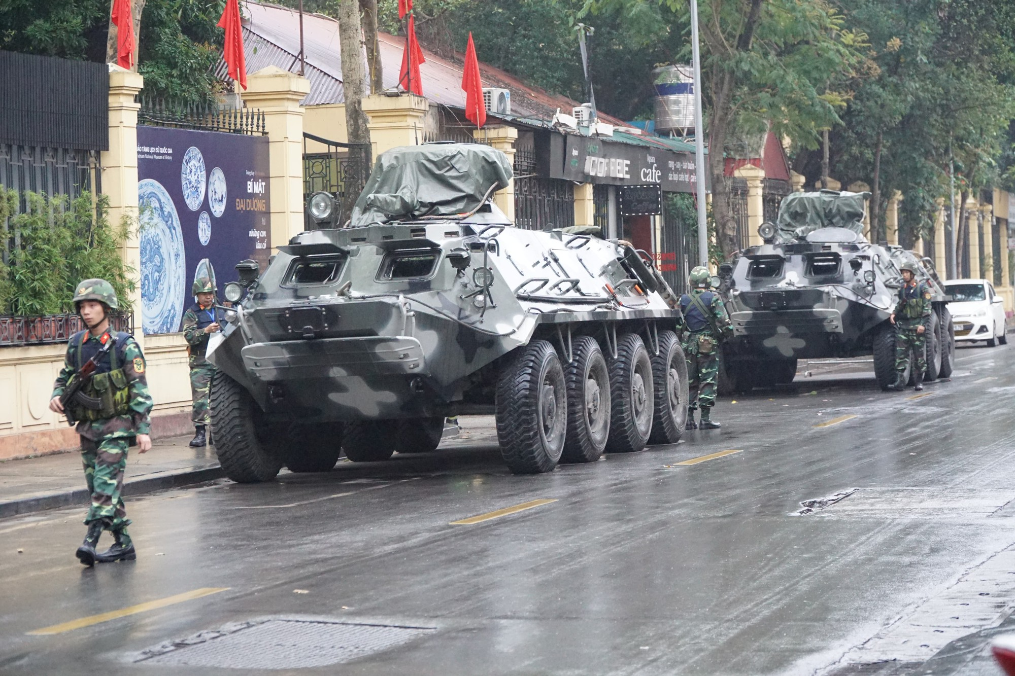 Toàn cảnh đón Chủ tịch Triều Tiên Kim Jong-un tại Việt Nam - Ảnh 28.