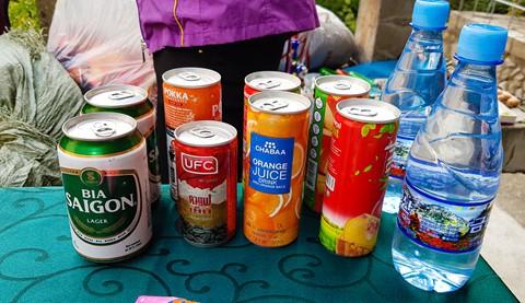 Bia Sài Gòn, nước cam Việt trong cửa hàng ở Triều Tiên - Ảnh 21.