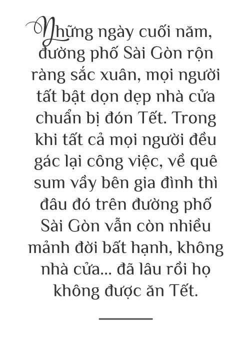 [eMagazine] - Sài Gòn dịp Tết và những mảnh đời vô gia cư - Ảnh 1.