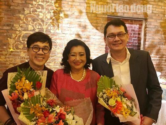 Bộ ba Kim Cương, Thành Lộc, Hữu Châu vui xuân tri ân nghệ sĩ - Ảnh 1.