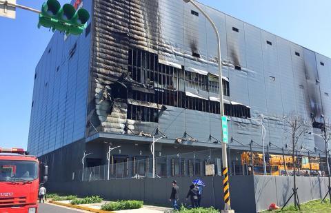 Cháy nhà kho ở Đài Loan, 3 lao động Việt thiệt mạng - Ảnh 1.