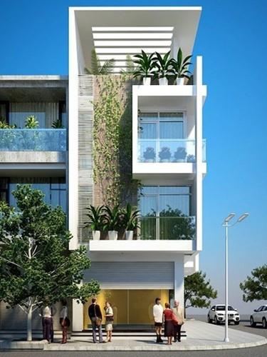 10 mẫu nhà phố 3 tầng 1 tum độc đáo nhất 2019 - Ảnh 1.