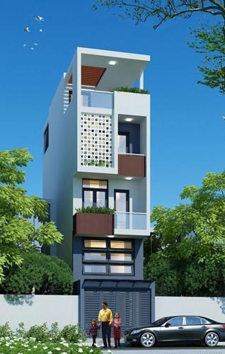 10 mẫu nhà phố 3 tầng 1 tum độc đáo nhất 2019 - Ảnh 10.
