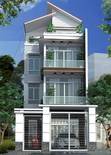 10 mẫu nhà phố 3 tầng 1 tum độc đáo nhất 2019 - Ảnh 2.