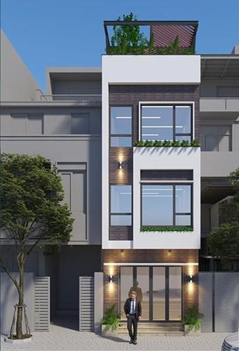 10 mẫu nhà phố 3 tầng 1 tum độc đáo nhất 2019 - Ảnh 3.