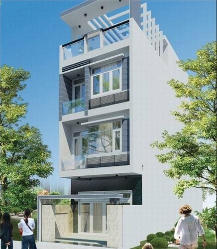 10 mẫu nhà phố 3 tầng 1 tum độc đáo nhất 2019 - Ảnh 5.