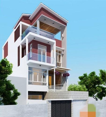 10 mẫu nhà phố 3 tầng 1 tum độc đáo nhất 2019 - Ảnh 9.