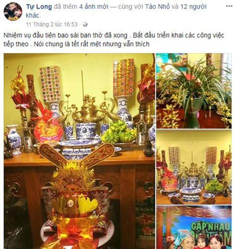 Sao Việt trang trí nhà ngày Tết như thế nào? - Ảnh 1.
