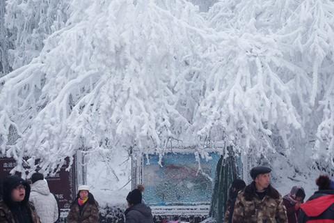 Núi Nga Mi ngập tuyết trắng - điểm du lịch hút khách ở Trung Quốc - Ảnh 2.