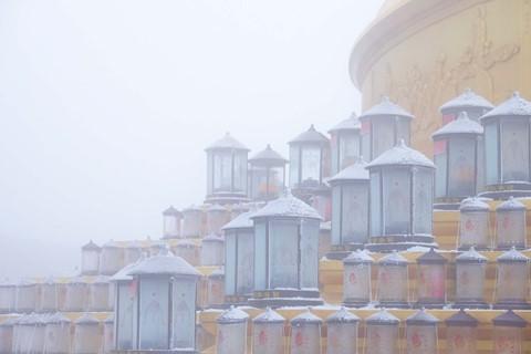 Núi Nga Mi ngập tuyết trắng - điểm du lịch hút khách ở Trung Quốc - Ảnh 11.