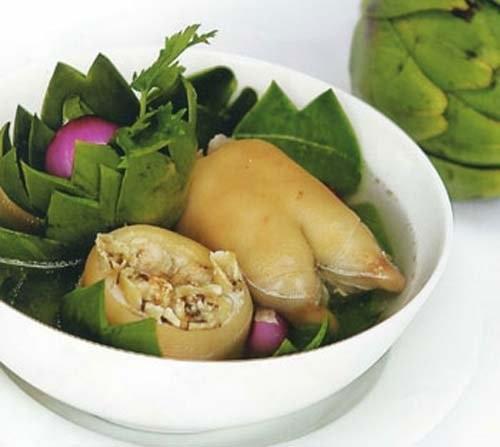 Cách nấu món ăn bổ dưỡng từ hoa atisô - Ảnh 4.