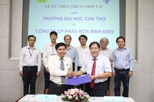 Bình Điền hợp tác nghiên cứu khoa học phục vụ nông nghiệp - Ảnh 1.
