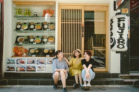 Lạc bước Tokyo giữa lòng Sài Gòn hoa lệ - Ảnh 2.