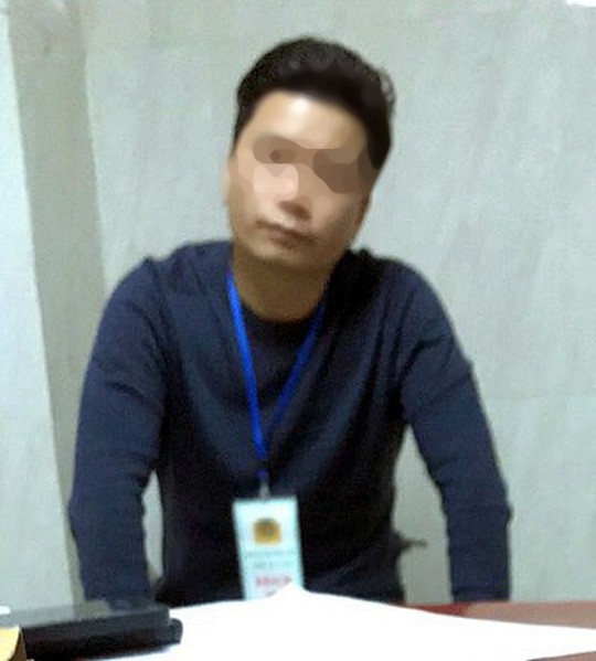 The female student's harassment in the elevator: Mr. Do Manh Hung was fined 200,000 VND - Photo 1.