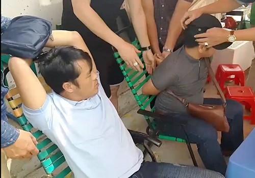 Hai đối tượng bị bắt giữ tại quận Bình Tân