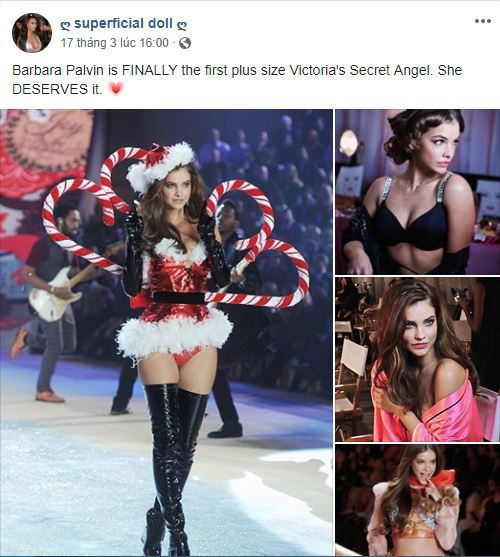 Barbara Palvin - thiên thần 'ngoại cỡ' đầu tiên của Victoria's Secret - Ảnh 2.