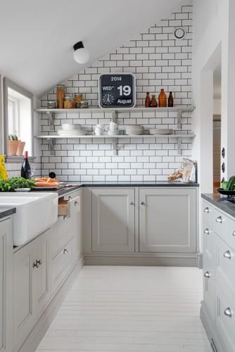 Phòng bếp mang phong cách hiện đại trong không gian chật hẹp - Ảnh 3.