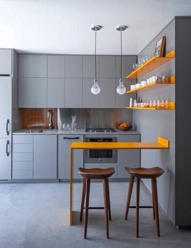 Phòng bếp mang phong cách hiện đại trong không gian chật hẹp - Ảnh 5.