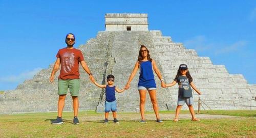 Gia đình bán hết tài sản để du lịch khắp thế giới - Ảnh 1.