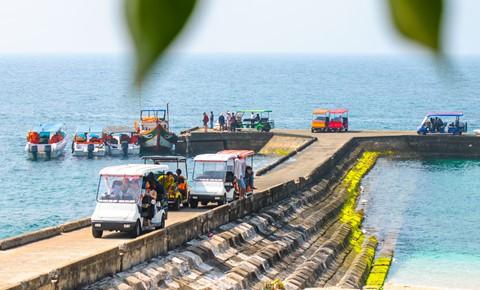 Bãi rêu cổ tích hút du khách khám phá trầm tích núi lửa Quảng Ngãi - Ảnh 8.