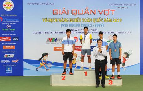 Các tay vợt trẻ TP HCM áp đảo, đàn em Lý Hoàng Nam chỉ giành 1 HCV - Ảnh 4.