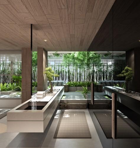 Mẫu thiết kế phòng tắm mở khiến bạn mê mẩn - Ảnh 6.