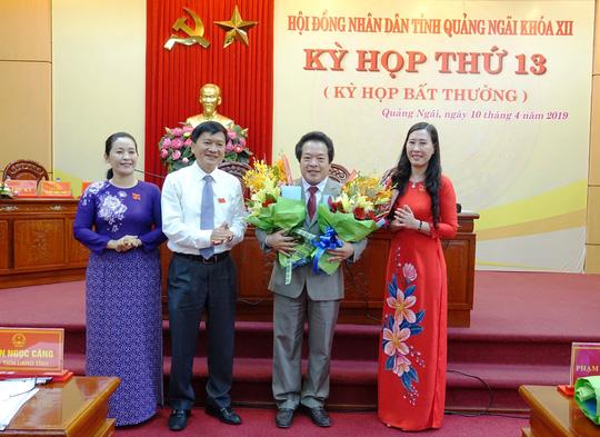 Quảng Ngãi có thêm một phó chủ tịch UBND tỉnh - Ảnh 1.