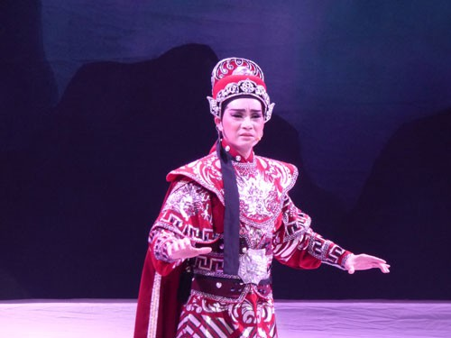 Nghệ sĩ Trung Thảo - nhà sư thanh thản - Ảnh 1.