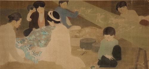 Ba bức tranh Việt bán hơn 22 tỉ đồng - Ảnh 1.