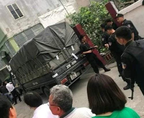 Bo Cong an bat 4 doi tuong thu giu 600 kg ma tuy da o TP Vinh