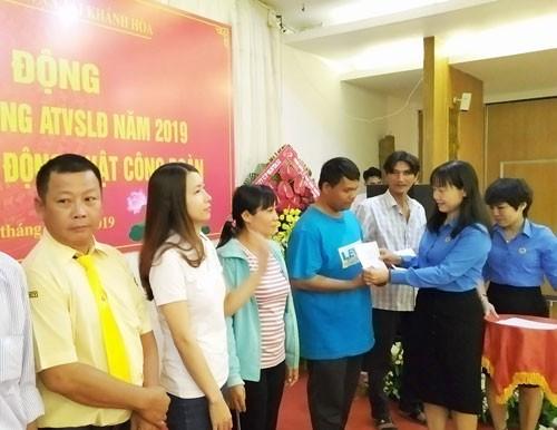 Khánh Hòa: Chăm lo cho người lao động - ảnh 1