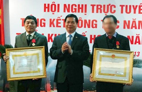 Bat ong Mai Van Tinh cuu Chu tich Tong cong ty thep Viet Nam
