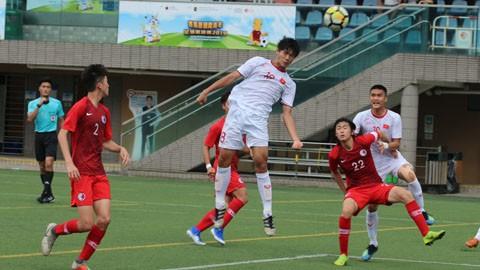 U18 Việt Nam chỉ về nhì ở giải Quốc tế Hồng Kông 2019 - Ảnh 1.