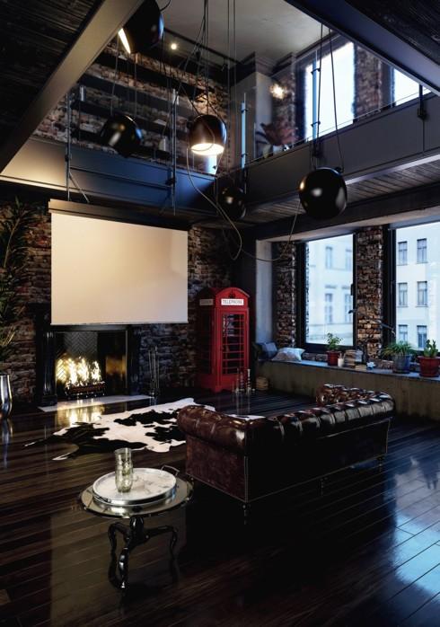 Những phòng khách độc đáo, hấp dẫn trong nhiều không gian khác nhau - Ảnh 12.