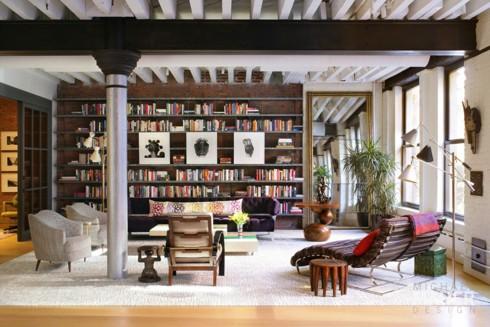 Những phòng khách độc đáo, hấp dẫn trong nhiều không gian khác nhau - Ảnh 9.