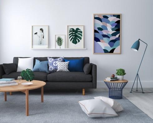Những phòng khách độc đáo, hấp dẫn trong nhiều không gian khác nhau - Ảnh 10.