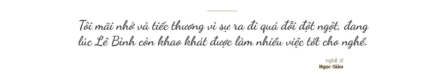 [eMagazine] Đồng nghiệp xót xa nói lời vĩnh biệt nghệ sĩ Lê Bình - Ảnh 5.