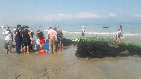Nam sinh viên mất tích khi tắm biển Đà Nẵng - Ảnh 1.