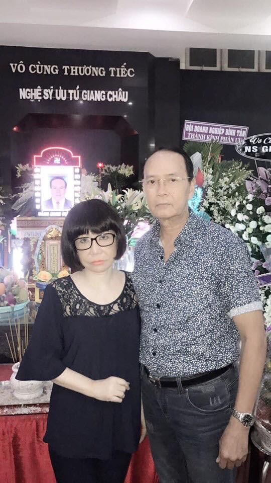 Tiễn đưa NSƯT Giang Châu về nơi an nghỉ cuối cùng - Ảnh 5.